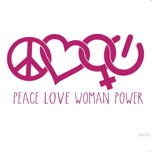 PeaceLoveWomanPower
