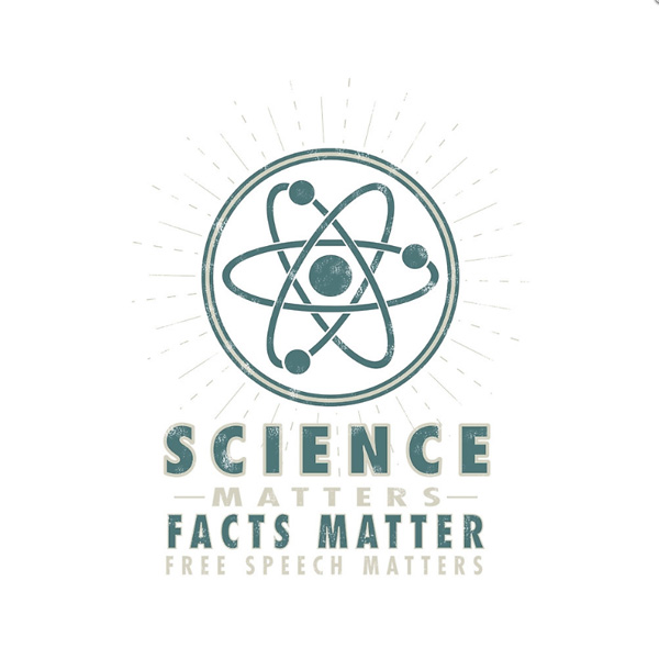 Science Matters Vintage Retro Atom Design