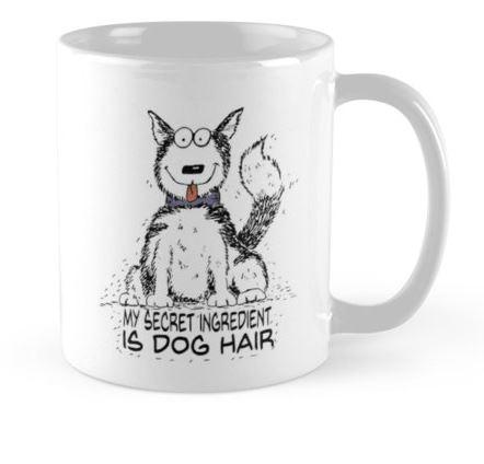 secret ingredient dog hair mug
