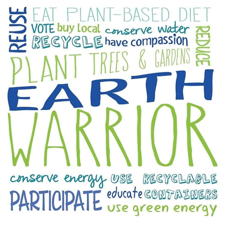 Earth Warrior Word Cloud