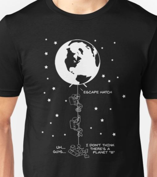 end of the line astronauts shirt